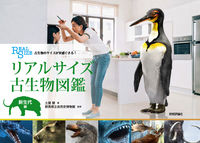リアルサイズ古生物図鑑 新生代編 古生物のサイズが実感できる!