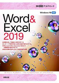 30時間アカデミック Word&Excel2019