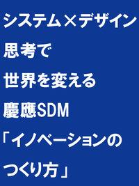 システム×デザイン思考で世界を変える / 慶應SDM「イノベーションのつくり方」
